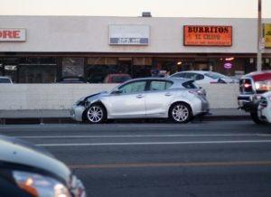 Tucson, AZ – Car Crash at Intersection of AZ-77 and Orange Grove Rd