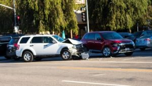 Phoenix, AZ – Car Accident Blocks Lanes on Red Mtn Freeway