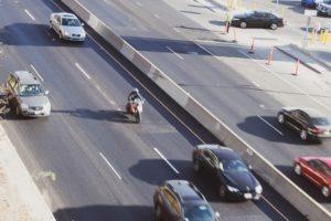 Phoenix, AZ – HOV Lanes Blocked After Car Crash on US-60