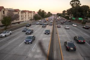 Phoenix, AZ - 2-Car Crash Causes Injuries on I-10 at Deck Park Tunnel