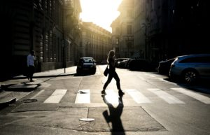 Why Crossing The Road Is No Place For Distractions