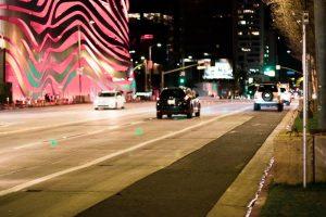Phoenix, AZ - Officers Investigating Car Crash on I-10 at the I-17 Split