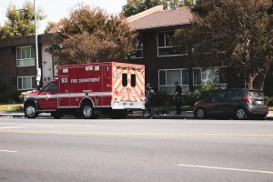 Phoenix, AZ - Officers Investigating Injurious Crash on L-101 Pima at 7th Ave