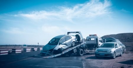 Phoenix, AZ - Officers Investigating Injurious Crash on I-10 at 7th St