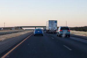 Phoenix, AZ - Officers Investigating Injury Crash on I-10 at Deck Park Tunnel
