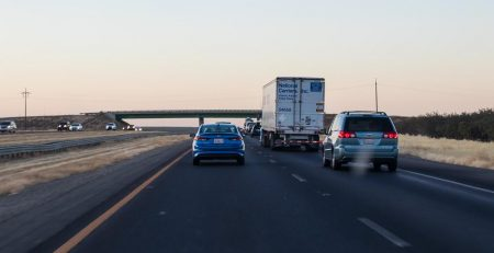 Phoenix, AZ - Injuries Reported in Two-Car Crash on I-10 at 27th Ave