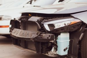 Mesa, AZ - Officers Investigating Injury Wreck on US 60 at Higley Rd
