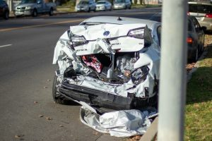 1.24 Phoenix, AZ - Two-Car Crash Causes Injuries on I-10 at 7th St