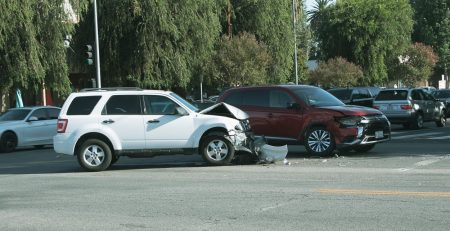 1.12 Yuma, AZ - Three Hospitalized in Car Crash at S Gateway Dr & S Magnolia Ave