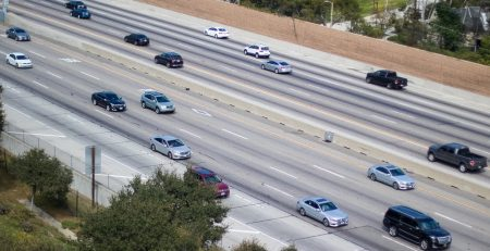 2.18 Phoenix, AZ - Two-Car Accident Causes Injuries on I-10 at 51st Ave